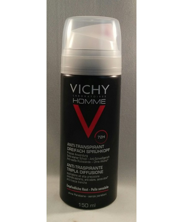VICHY HOMME ANTITRANSPIRANTE  TRIPLE DIFUSION 150 ML