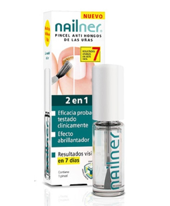 NAILNER PINCEL ANTIHONGOS DE LAS UÑAS 5 ML