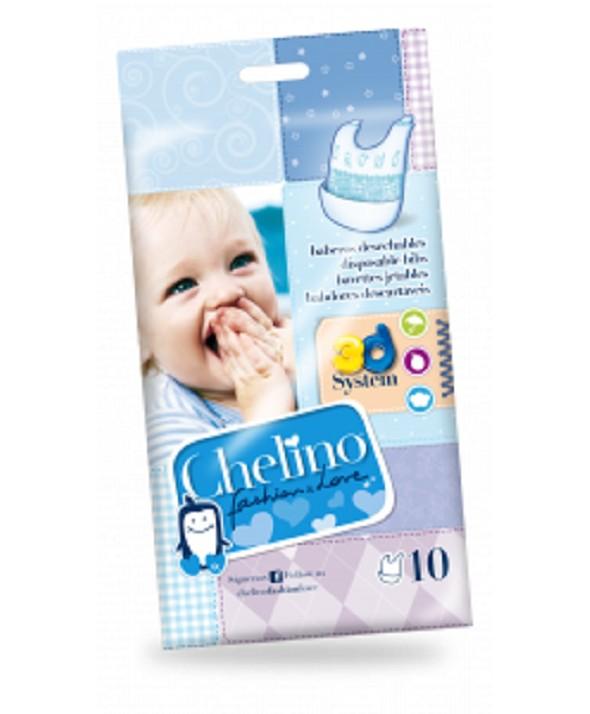 BABERO INFANTIL CHELINO FASHION LOVE 10 UNIDADES