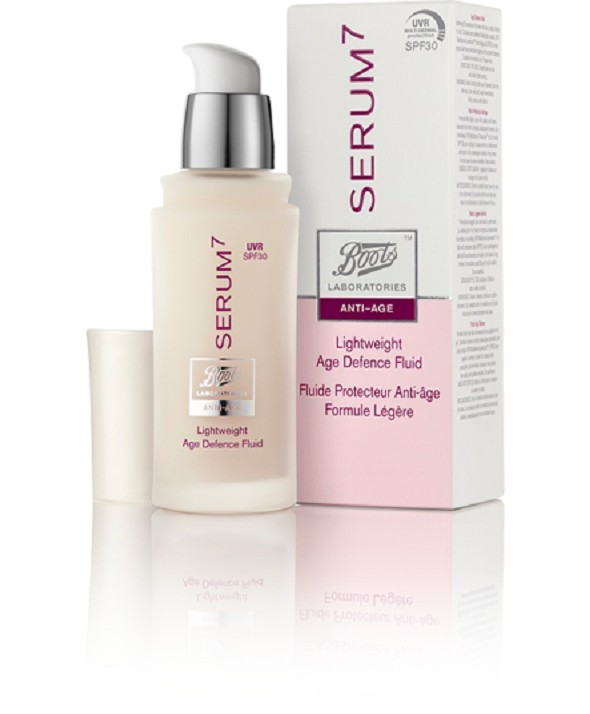 SERUM7 ANTI-AGE FLUIDO TEXTURA LIGERA FPS 30  30 ML