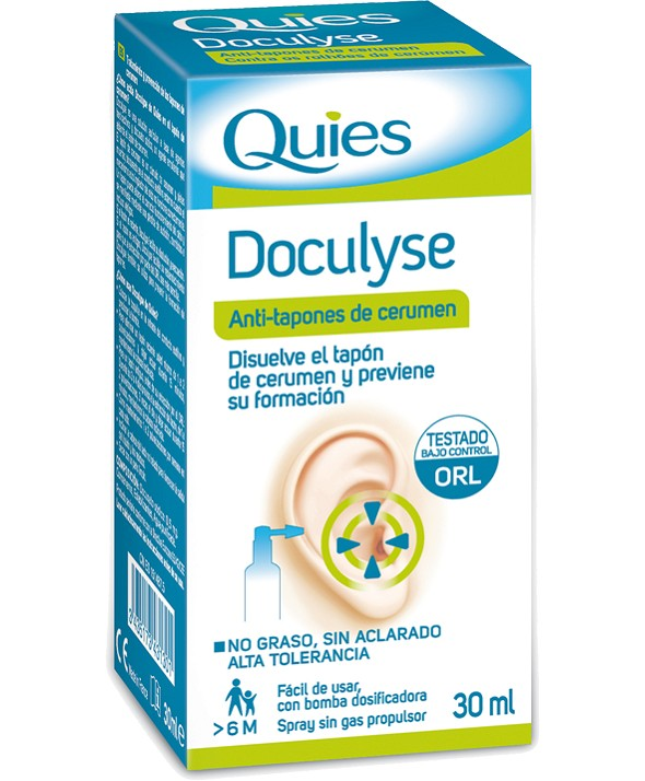 DOCULYSE SPRAY ANTITAPONES 30 ML