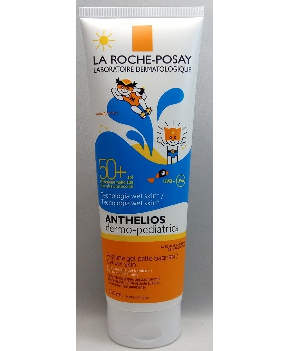 ANTHELIOS SPF 50 + DERMO-PEDIATRICS WET SKIN 250 ML
