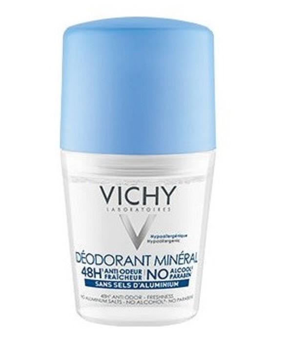 VICHY DESODORANTE ROLL ON MINERAL 50 ML