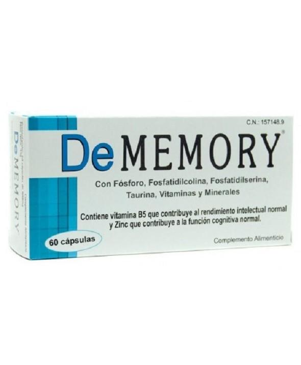 DE MEMORY 60 CAPSULAS