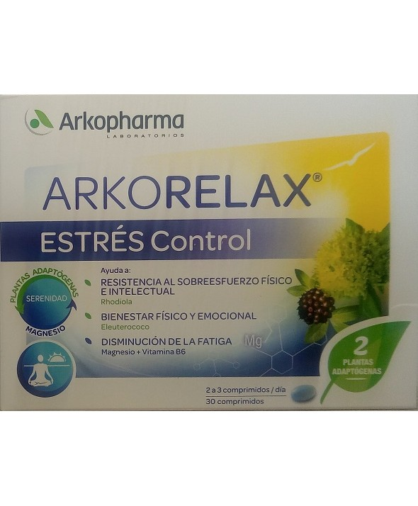 ARKORELAX STRESS CONTROL 30 COMPRIMIDOS