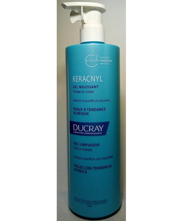 KERACNYL GEL LIMPIADOR PURIFICANTE 400 ML