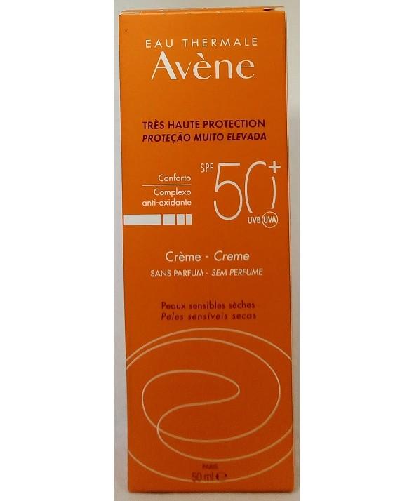 AVENE SPF 50+ CREMA MUY ALTA PROTECCION SIN PERFUME 50 ML