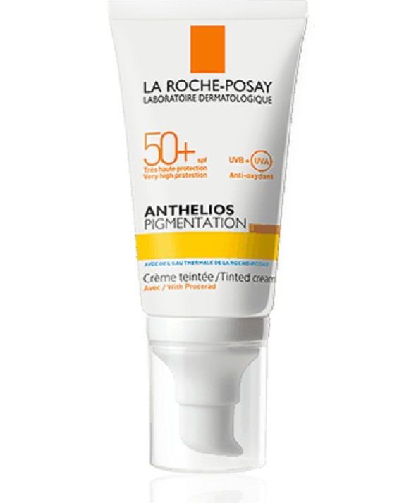 ANTHELIOS PIGMENTATION CREMA FPS 50 + CON COLOR 50 ML