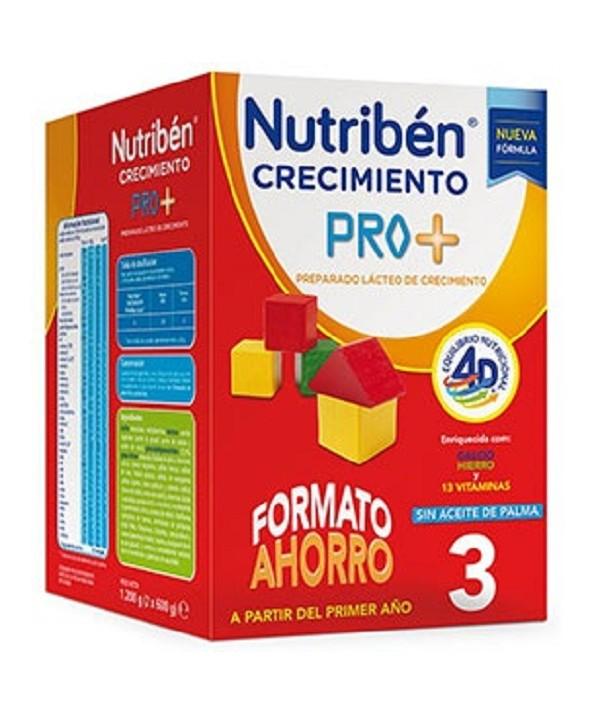 NUTRIBEN CRECIMIENTO PREPARADO LACTEO 1200 G