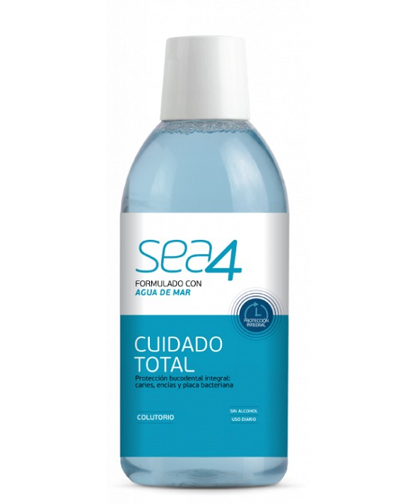 SEA4 ENJUAGUE CUIDADO TOTAL 500 ML