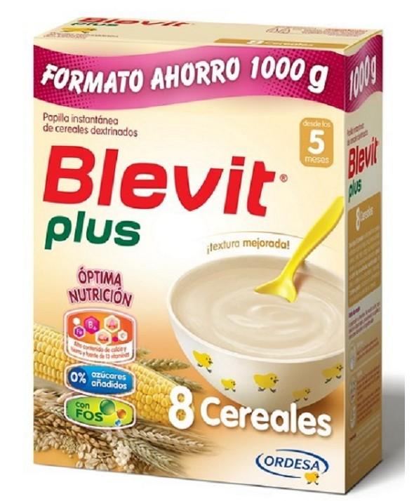 BLEVIT PLUS 8 CEREALES 1000G FORMATO AHORRO