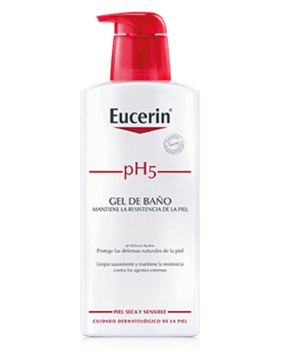 PH5 EUCERIN PIEL SENSIBLE GEL DE BAÑO 400 ML