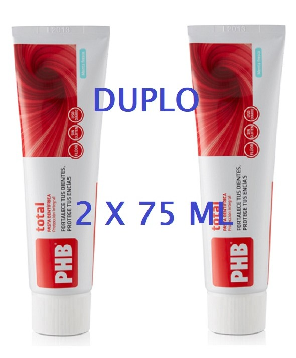 DUPLO PASTA PHB TOTAL 2 X 75 ML