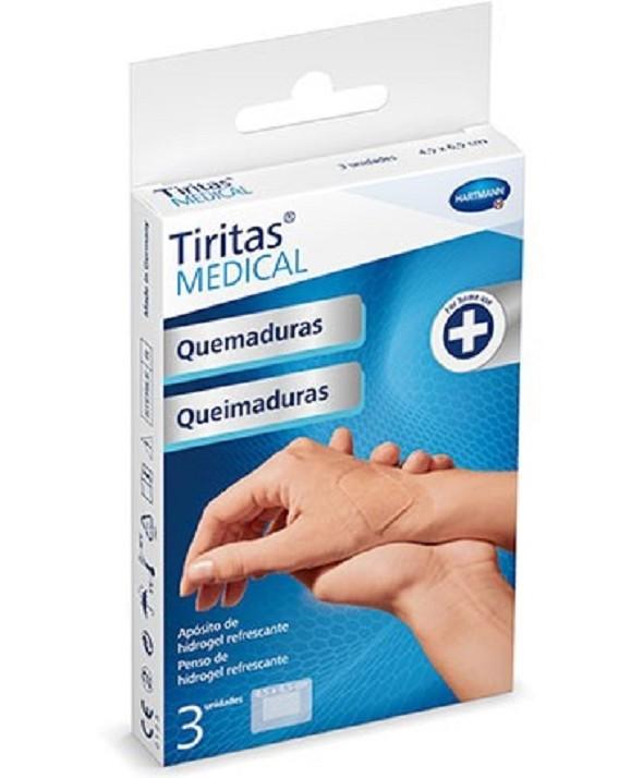 TIRITAS MEDICAL QUEMADURAS 4,5 X 6,5 CM 3 UNIDADES