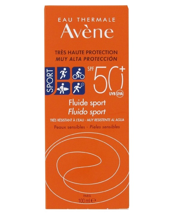 AVENE 50 + FLUIDO SPORT 100 ML