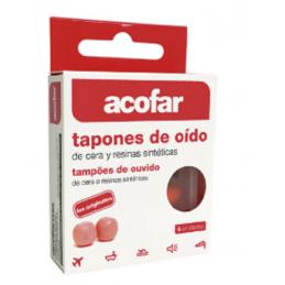 TAPONES OIDO ACOFARMA CERA...