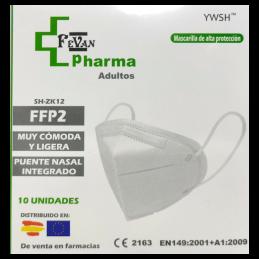 MASCARILLAS FFP2 BLANCAS...