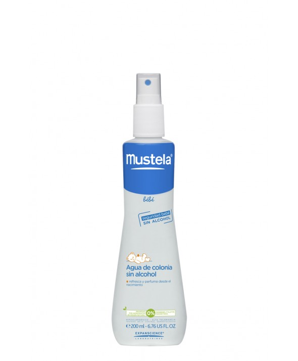 MUSTELA BEBE AGUA DE COLONIA SIN ALCOHOL 200 ML MINIPRECIO