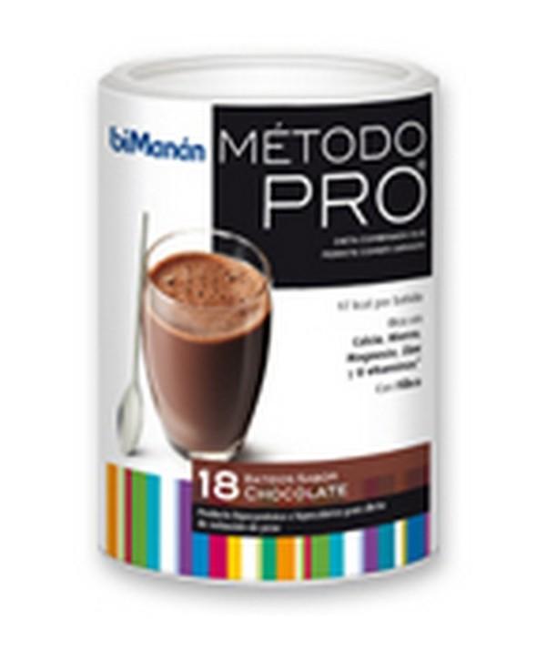 BIMANAN METODO PRO BATIDO FORMATO GRANDE ECONOMICO CHOCOLATE 540 G