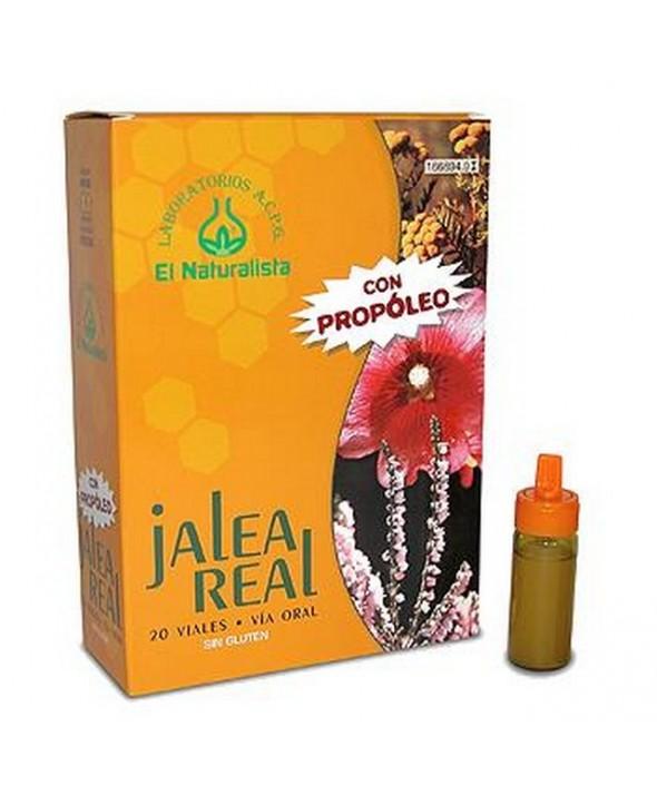 JALEA REAL EL NATURALISTA CON PROPOLIS 20 VIALES