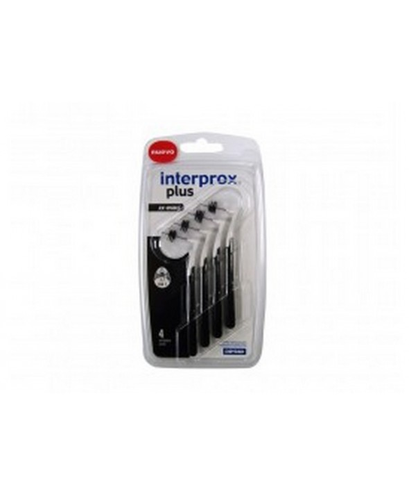 CEPILLO DENTAL INTERPROXIMAL INTERPROX PLUS XX-MAXI 4 UNIDADES