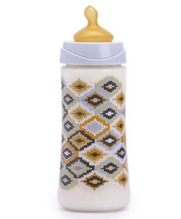 BIBERON 0 BPA PP BOCA ANCHA TETINA LATEX ANATOMICA TALLA L 360 ML