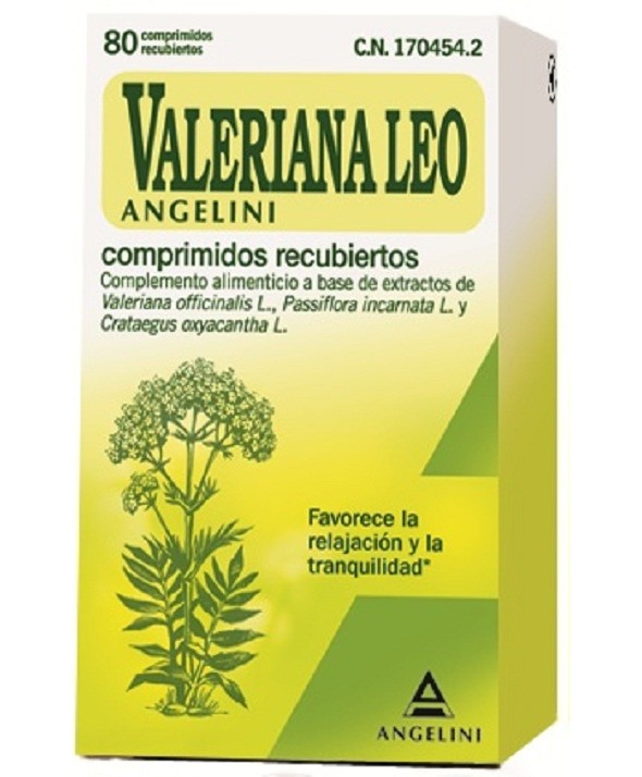 VALERIANA LEO ANGELINI 80 COMPRIMIDOS