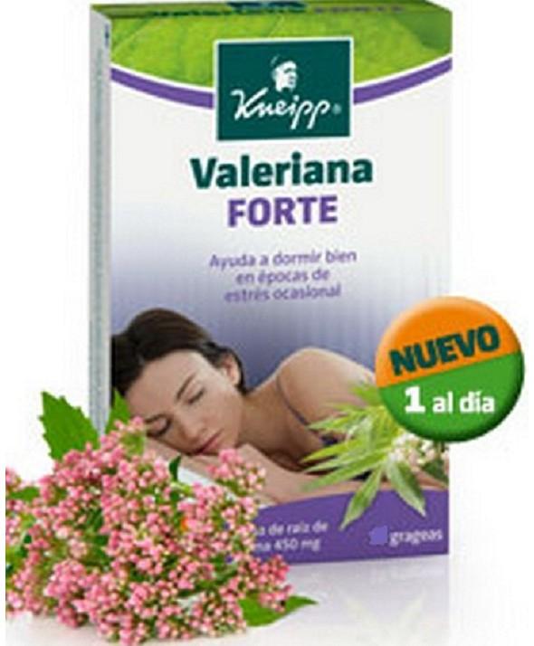 VALERIANA FORTE 15 GRAGEAS KNEIPP