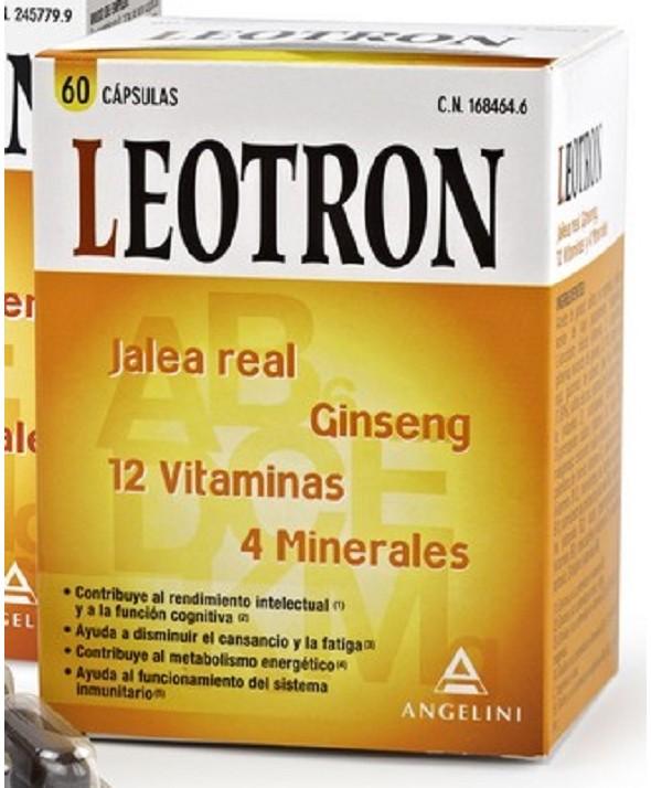 LEOTRON 60 CAPS REGALO LEOTRON FAST ENERGY 2 SOBRES