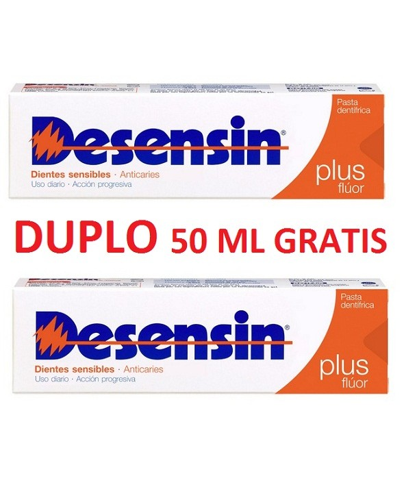 DESENSIN PLUS PASTA DENTIFRICA 125 ML + 25 ML GRATIS
