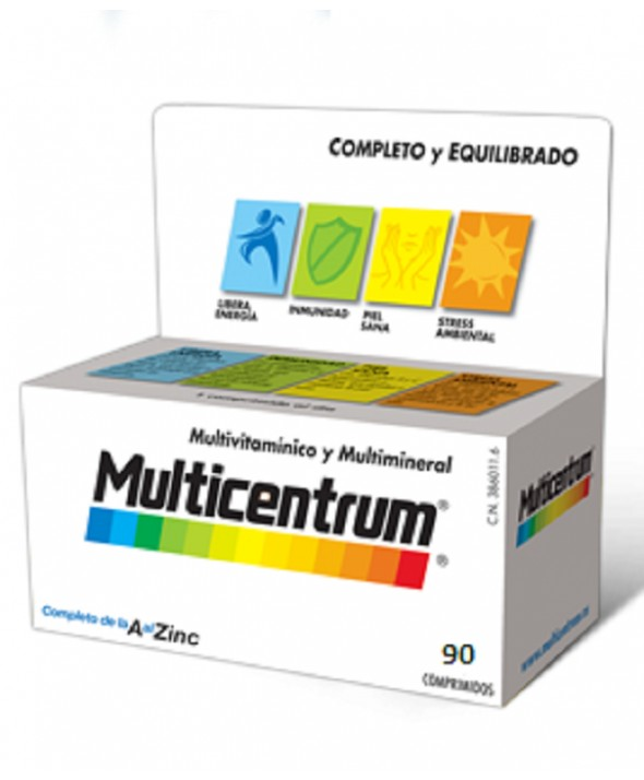 MULTICENTRUM CON LUTEINA 90 COMP
