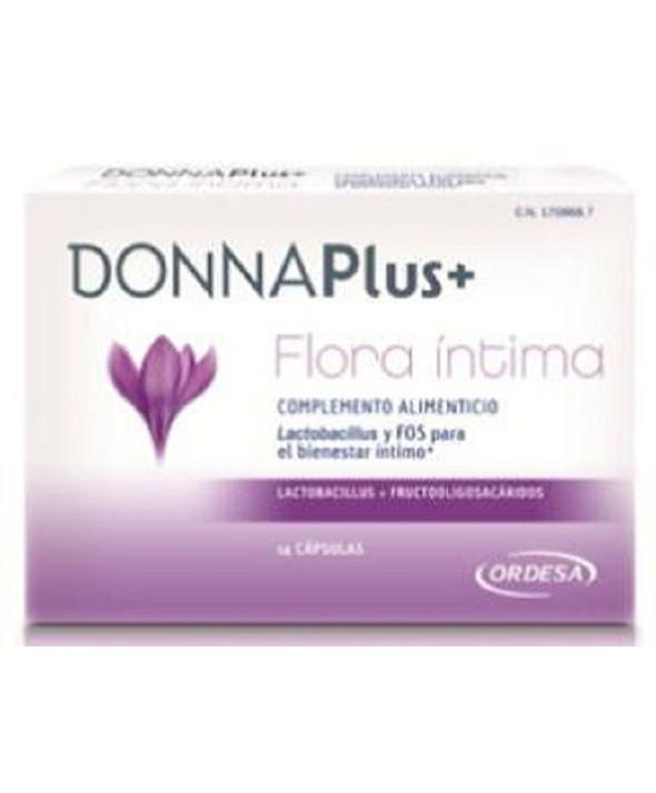 DONNAPLUS FLORA INTIMA 14 CÁPSULAS