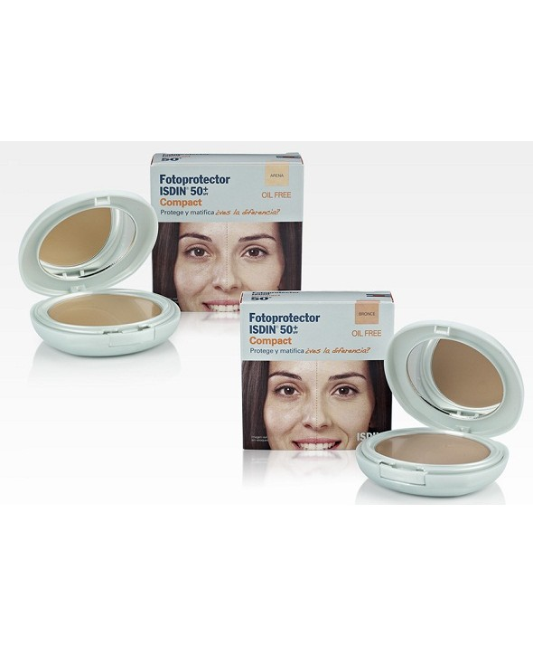 FOTOPROTECTOR ISDIN EXTREM SPF-50 MAQUILLAJE COMPACTO BRONZE