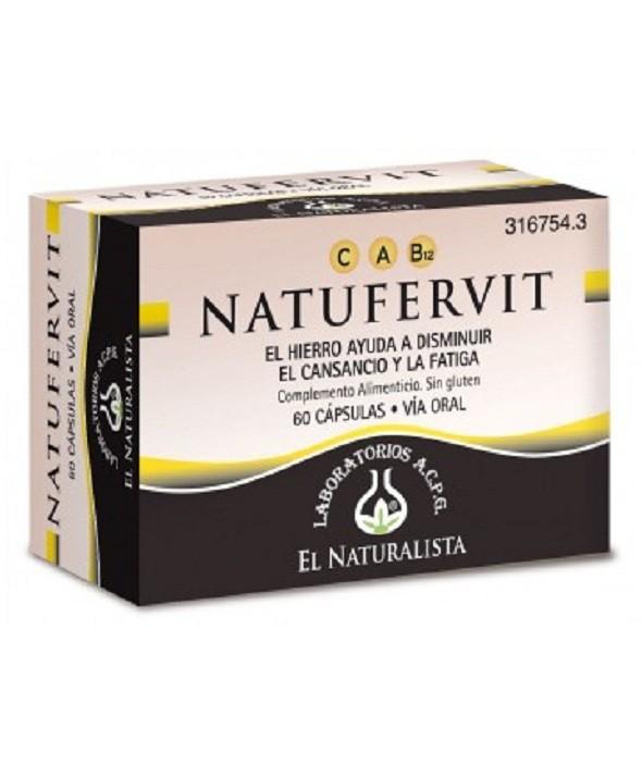 NATURFERVIT EL NATURALISTA 60 CAPSULAS
