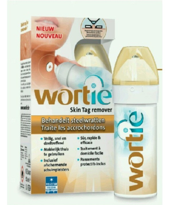 WORTIE SKIN TAG REMOVER  ANTIVERRUGAS DEL CUELLO