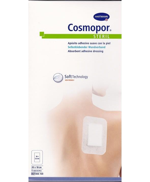 COSMOPOR STERIL APOSITO 10 X 6 CM 5 UNIDADES