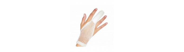 Vendas y guantes
